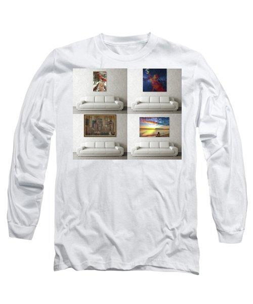 Wall Art Samples Long Sleeve T-Shirt