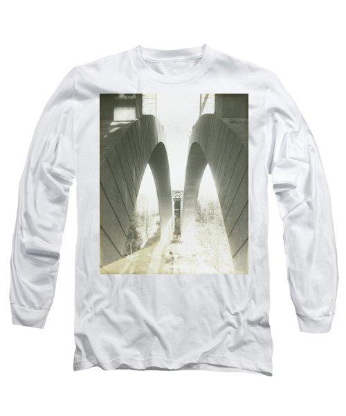 Walnut Lane Bridge Under Construction Long Sleeve T-Shirt