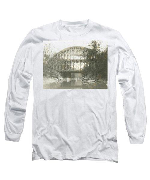Walnut Lane Bridge Long Sleeve T-Shirt