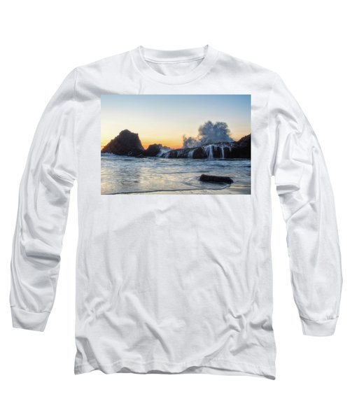 Wave Burst Long Sleeve T-Shirt