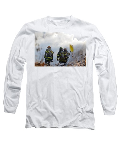 We're Going In Long Sleeve T-Shirt