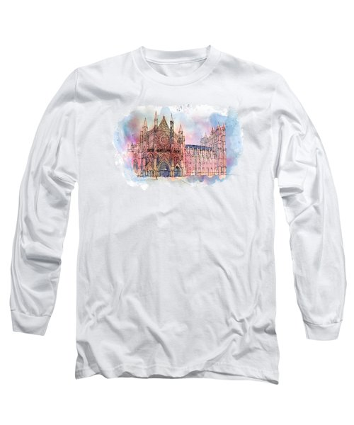 Westminster Abbey Long Sleeve T-Shirt