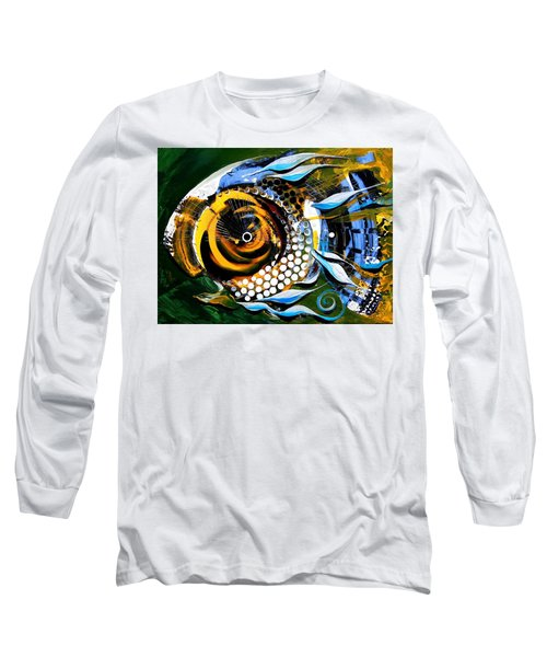 White-headed Mouth Fish Long Sleeve T-Shirt
