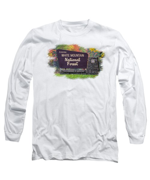 White Mountain National Forest Transparency Long Sleeve T-Shirt