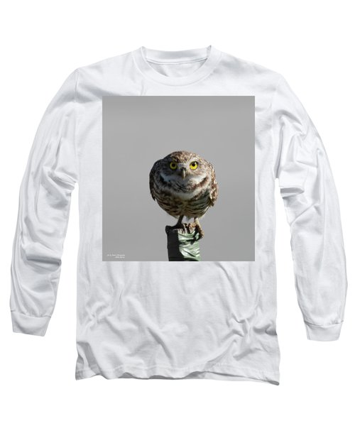 Whooo Are You Long Sleeve T-Shirt
