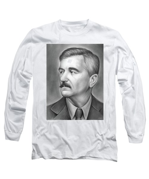 William Faulkner Long Sleeve T-Shirt