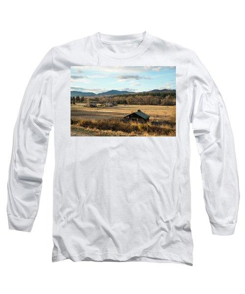 Winthrop Morning Pastures Long Sleeve T-Shirt