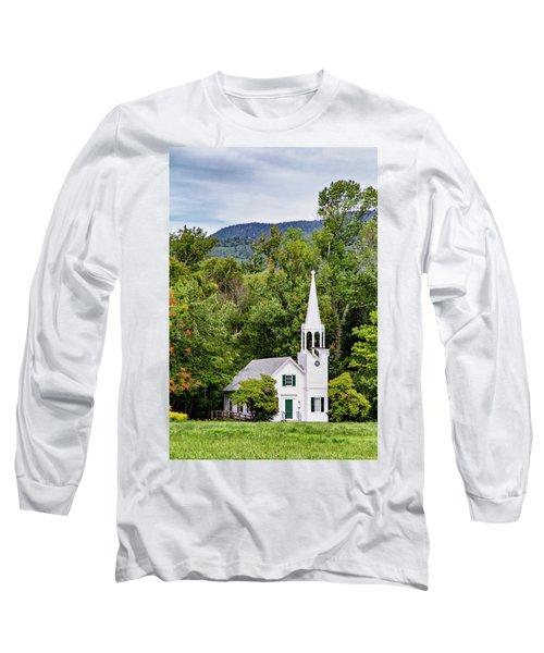 Wonalancet Union Chapel Long Sleeve T-Shirt