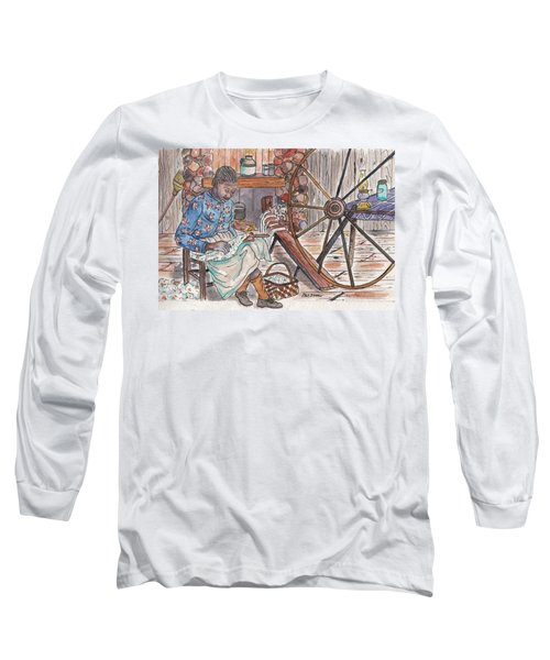Working Cotton The Old Fashioned Way Long Sleeve T-Shirt