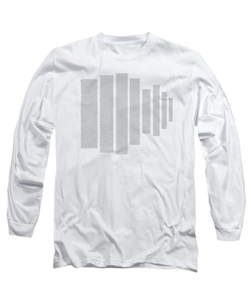 World's Longest Word Titin Protein Long Sleeve T-Shirt