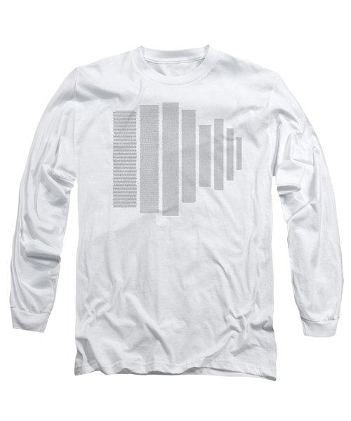 World's Longest Word Titin Protein Long Sleeve T-Shirt