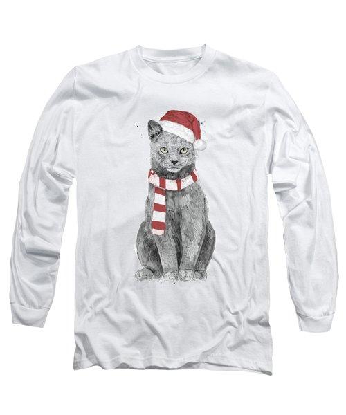 Xmas Cat Long Sleeve T-Shirt