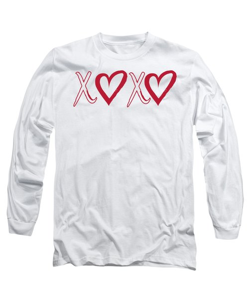 Xoxo, Hugs And Kisses, Long Sleeve T-Shirt