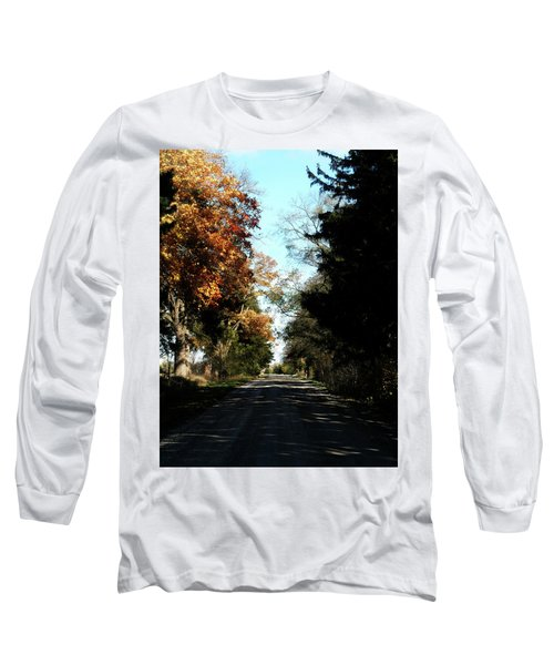 Ye Old Tracks Road Long Sleeve T-Shirt