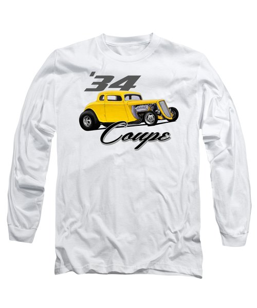 Yellow Coupe Long Sleeve T-Shirt
