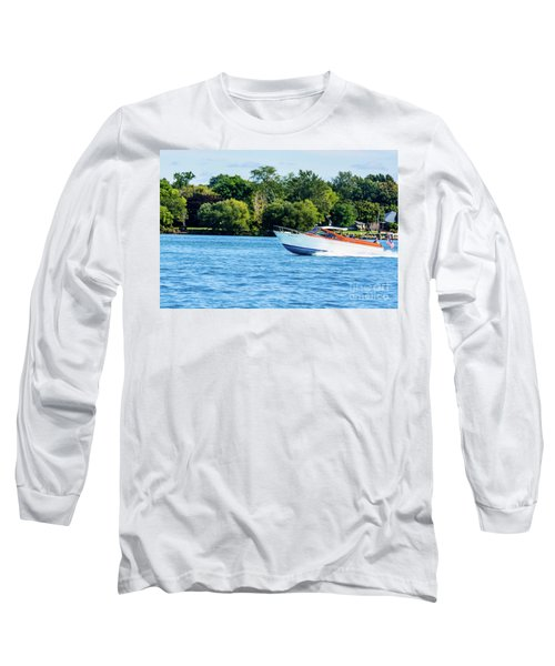 Yes Its A Chris Craft Long Sleeve T-Shirt