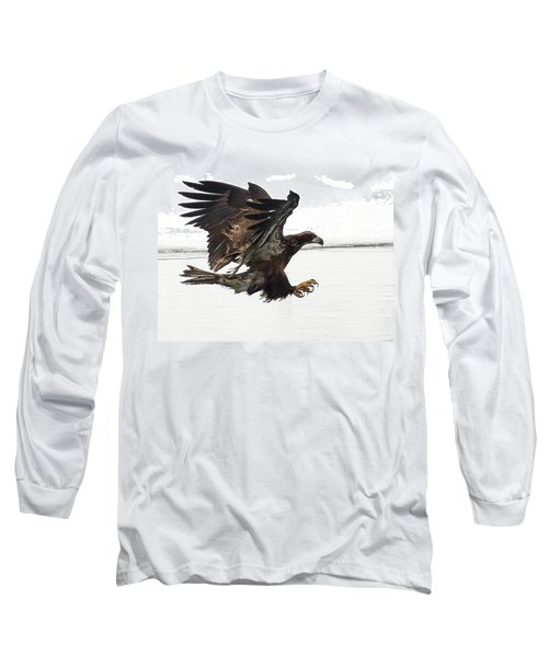 Young Bald Eagle Long Sleeve T-Shirt