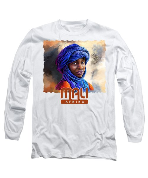 Young Boy From Mali Long Sleeve T-Shirt
