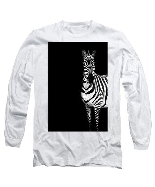 Zebra Drama Long Sleeve T-Shirt