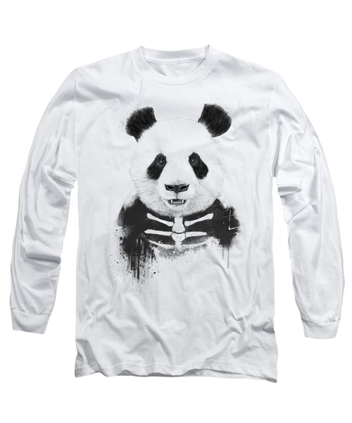 Zombie Panda Long Sleeve T-Shirt