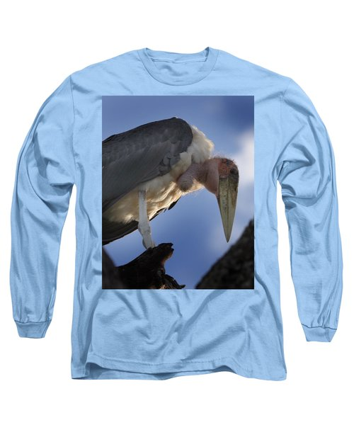 Maribou Stork Long Sleeve T-Shirt