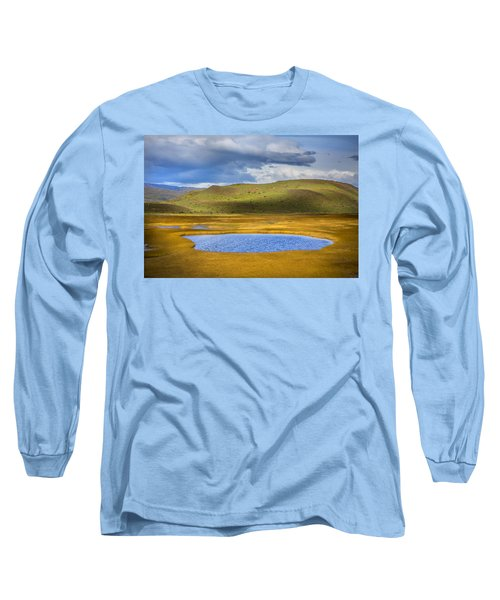 Patagonian Lakes Long Sleeve T-Shirt