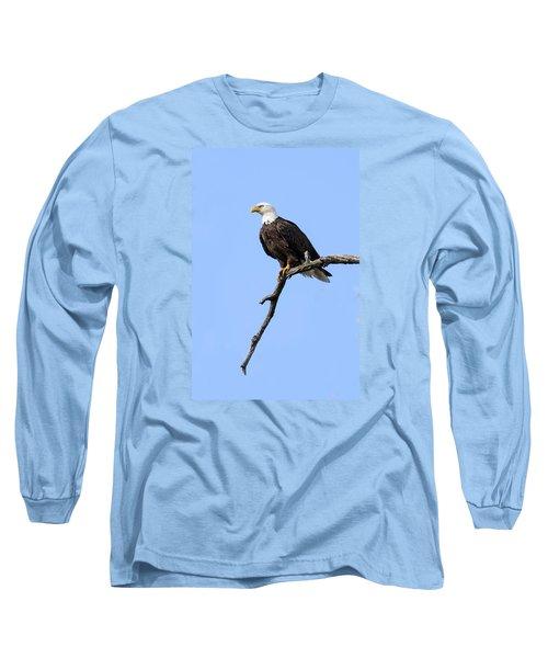 Bald Eagle 6 Long Sleeve T-Shirt by David Lester
