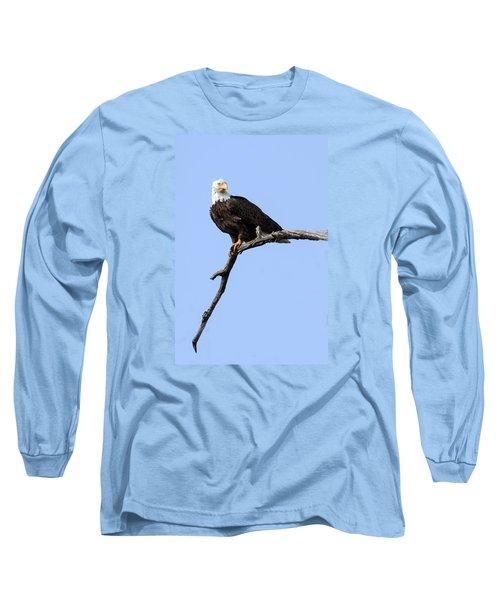 Bald Eagle 7 Long Sleeve T-Shirt by David Lester