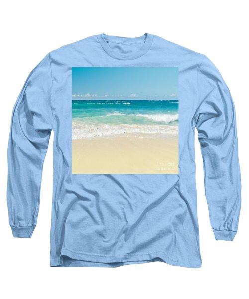 Long Sleeve T-Shirt featuring the photograph Beach Love by Sharon Mau