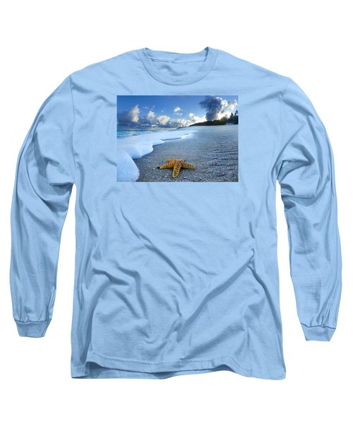 Blue Foam Starfish Long Sleeve T-Shirt