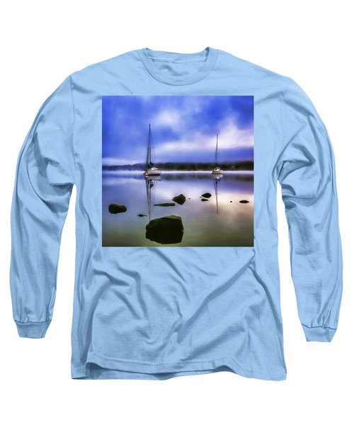 Boats On Ullswater Long Sleeve T-Shirt