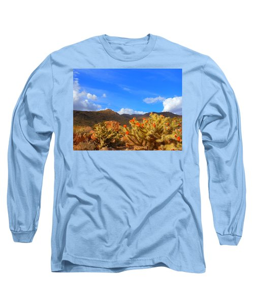Cactus In Spring Long Sleeve T-Shirt