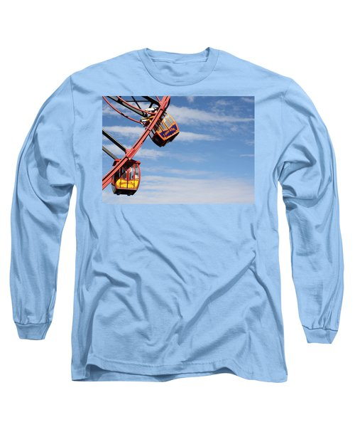 Carousel Twist Long Sleeve T-Shirt by David Nicholls