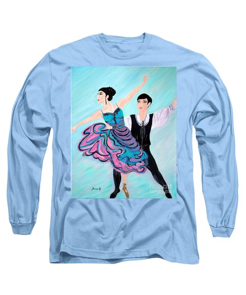 Dance. Inspirations Collection. Long Sleeve T-Shirt