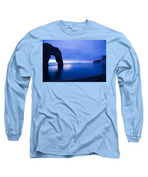 Durdle Door At Dusk Long Sleeve T-Shirt