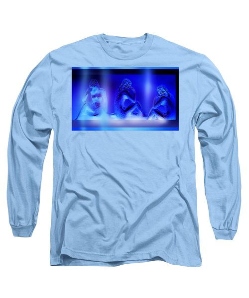 Long Sleeve T-Shirt featuring the mixed media Elusive  Dream by Hartmut Jager