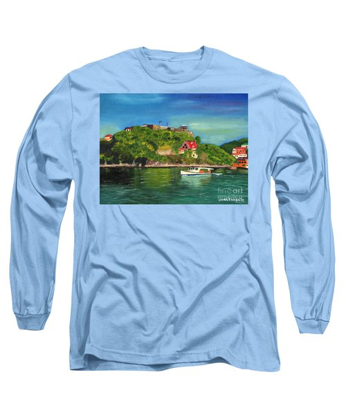 Fort George Grenada Long Sleeve T-Shirt by Laura Forde