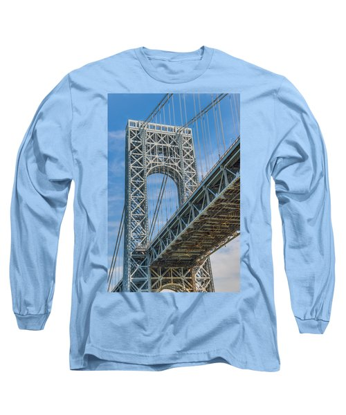George Washington Bridge Long Sleeve T-Shirt