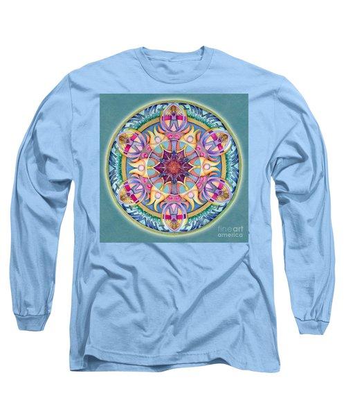 I Am Enough Mandala Long Sleeve T-Shirt