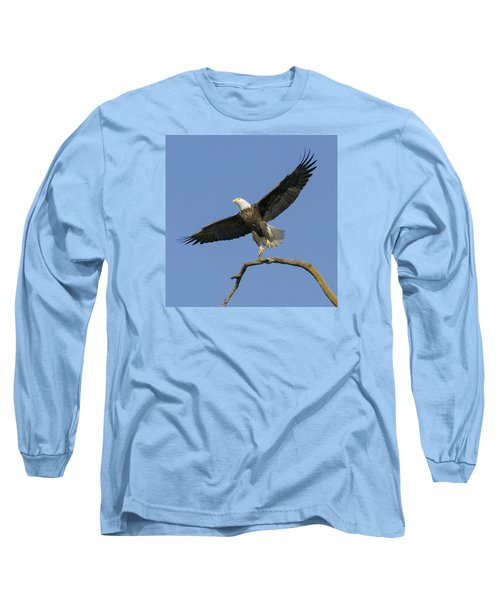 King Of The Sky 3 Long Sleeve T-Shirt by David Lester