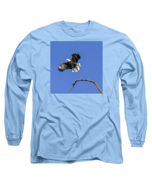 King Of The Sky 4 Long Sleeve T-Shirt by David Lester