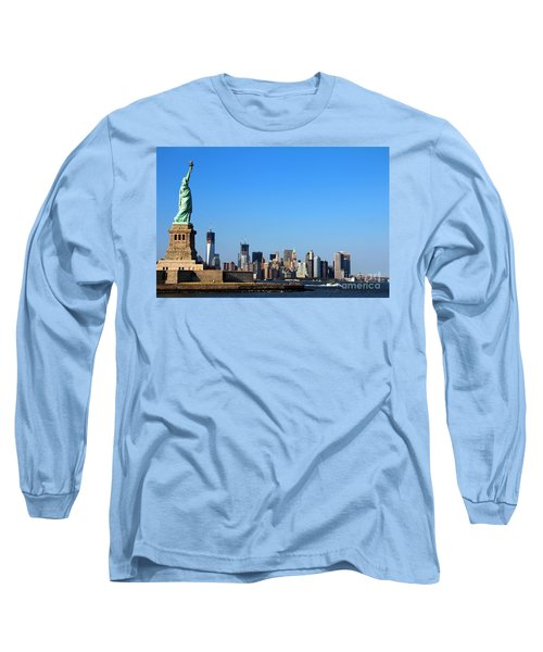 Lady Liberty Watches 1wtc Rise Long Sleeve T-Shirt