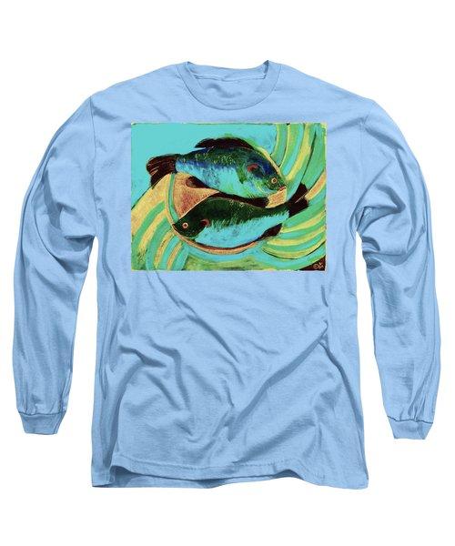Lake Martin  Fish Long Sleeve T-Shirt