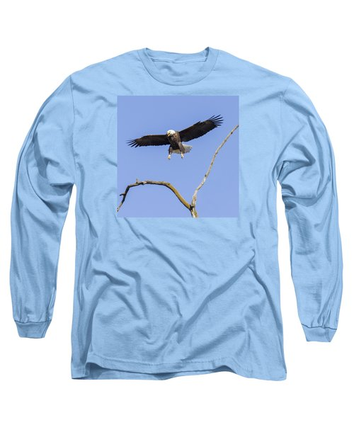 Landing Approach 1 Long Sleeve T-Shirt by David Lester