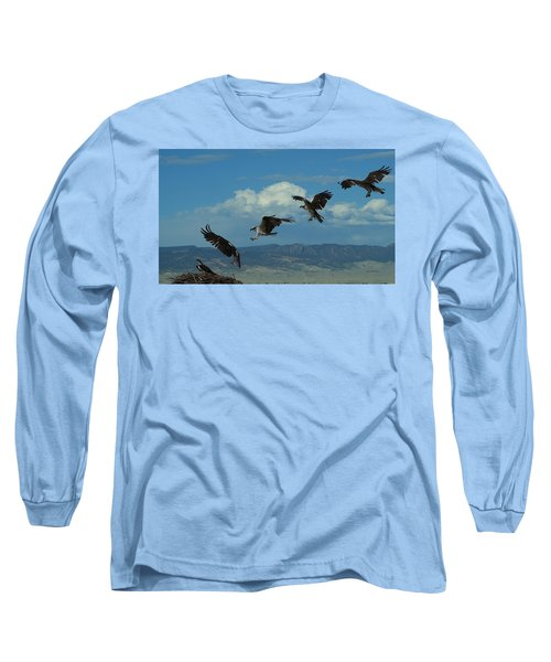 Landing Pattern Of The Osprey Long Sleeve T-Shirt