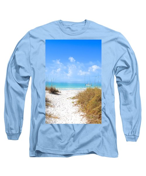 Anna Maria Island Escape Long Sleeve T-Shirt by Margie Amberge