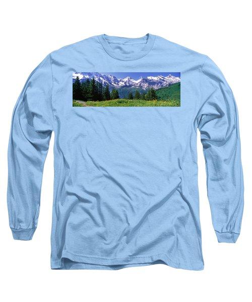 Murren Switzerland Long Sleeve T-Shirt