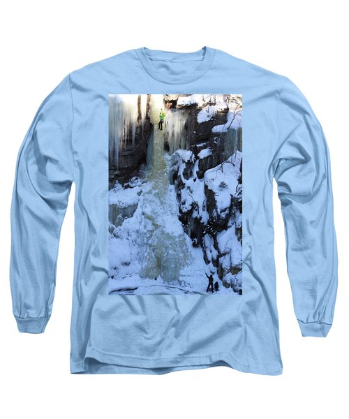 The Wintery Flume  Long Sleeve T-Shirt