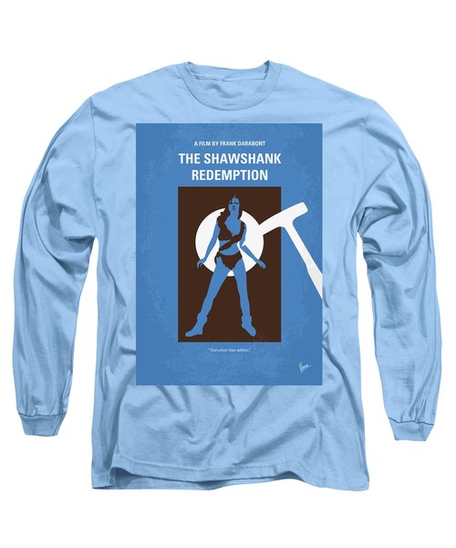 No246 My The Shawshank Redemption Minimal Movie Poster Long Sleeve T-Shirt