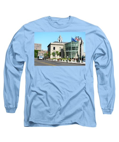 Old Town Hall In Stamford Long Sleeve T-Shirt